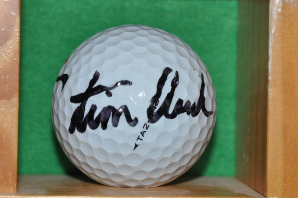PGA Tour Professional Tim Clark Autographed Golf Ball from the Memorial Tournament