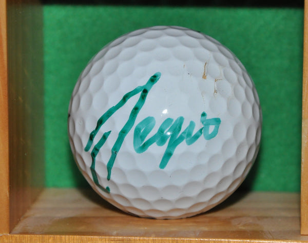 Sergio Garcia Autographed Golf Ball from the Memorial Tournament