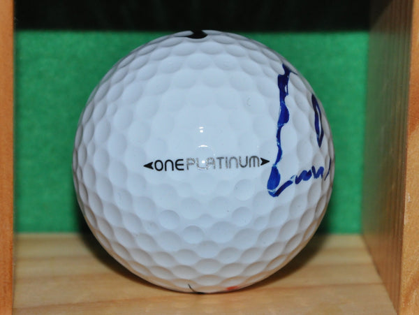 PGA Tour Professional Carl Pettersson Autographed ball from the Memorial Tournament
