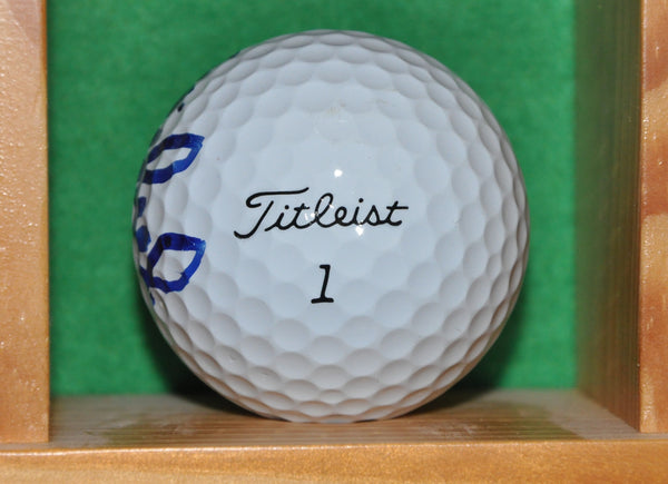 PGA Tour Champion Shaun Micheel Autographed Ball Used at the Memorial Tournament