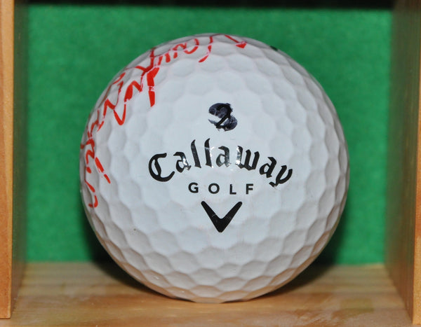 PGA Tour Professional Vaughn Taylor Autographed Golf Ball