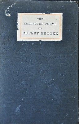 The Collected Poems of Rupert Brooke, 1915 edition.