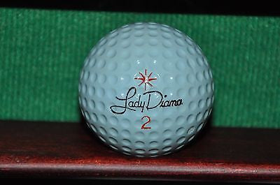 Lady Diana vintage golf ball. Excellent Condition.