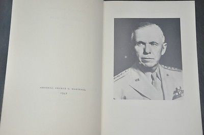 George C. Marshall: Ordeal and Hope, Volume II, Second Printing, 1967.