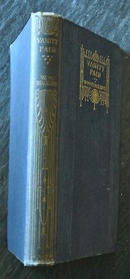 Vanity Fair, A Novel Without A Hero. By W.M. Thackeray. 1905 Edition.