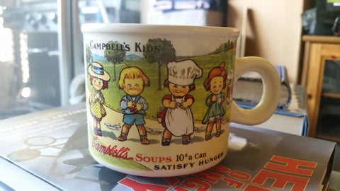 "Campbell Soup Co. ""Satisfy Hunger"" Mug"