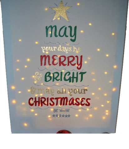 Merry & Bright Canvas