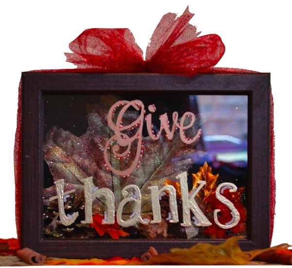 Give Thanks Shadow Box