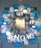 Let It Snow Wreath