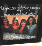 Sisters Shadow Box