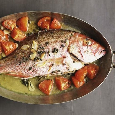 Snapper - Lane Snapper, Whole Fish