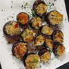 Blue Cheese Stuffed Mushrooms - by The Scale House