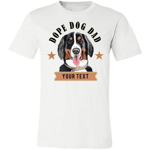 Dope Dog Dad / Bernese Mountain Dog T-shirt / Father's Day Gift