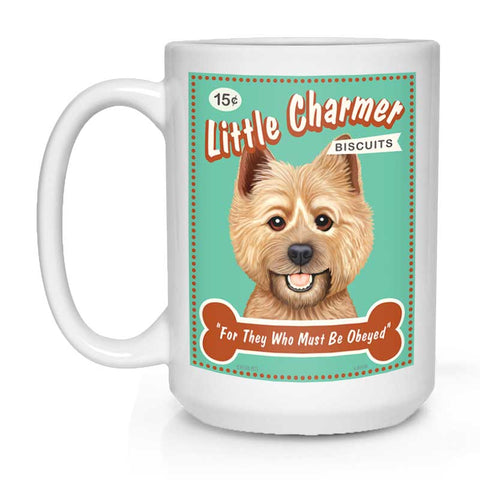 "Cairn Terrier Art ""Little Charmer"" 15 oz. White Mug"