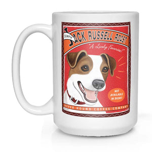 Jack Russell Terrier lover gift, Jack Russell Terrier coffee mug, JRT art, jack russell art, jack russel art