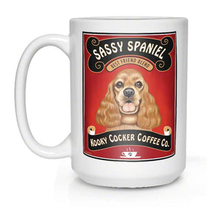 Cocker spaniel lover gift, cocker spaniel coffee mug
