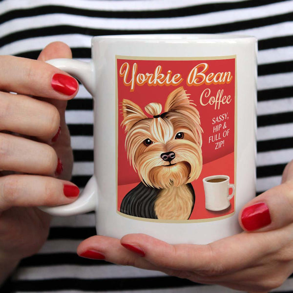 Yorkie lover gift, Yorkie coffee mug, Yorkshire terrier lover gift, Yorkshire terrier coffee mug