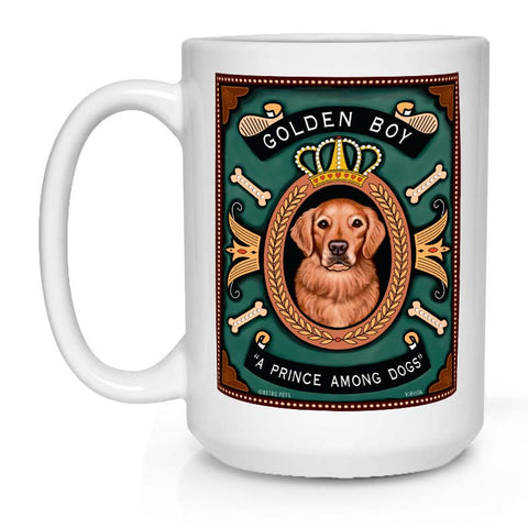 Golden Retriever lover gift, Golden Retriever coffee mug