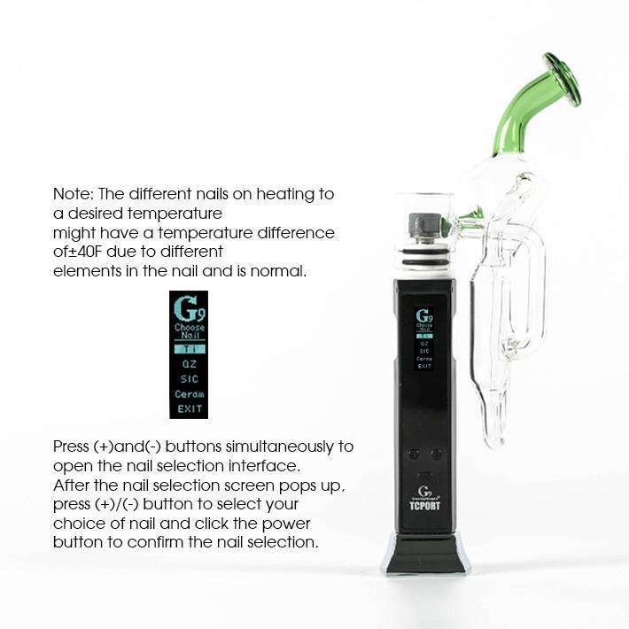 G9 TC PORT Portable Dab Rig - Tarik Rosin