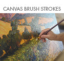 Canvas Brush Strokes