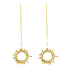 Selene Earrings Gold