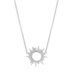 Helios Necklace Silver