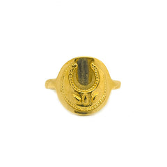 Lucky Moon Signet Ring