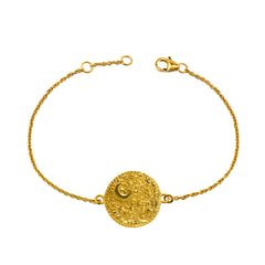 Night's Sky Coin Bracelet