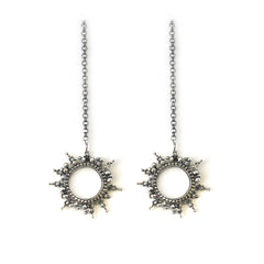 Selene Earrings Silver