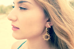 Thom Lotus Bud Studs Rose Gold