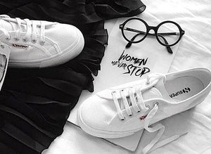 HOW TO STYLE: The White Sneaker