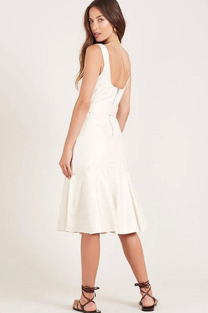 Ministry of Style - Alpinia Midi Dress - Beige