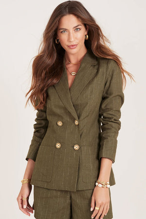 Ministry of Style - Cassia Blazer - Olive