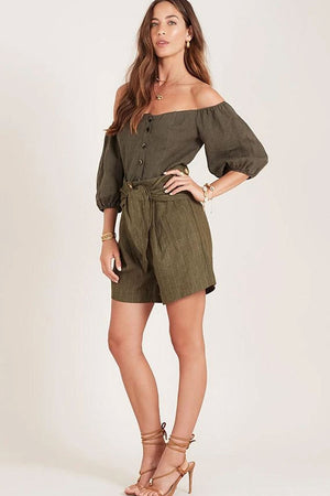 Ministry of Style - Cassia Shorts - Olive