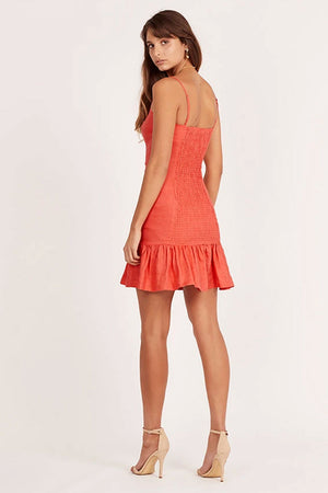 Ministry of Style - Celia Mini Dress - Rouge