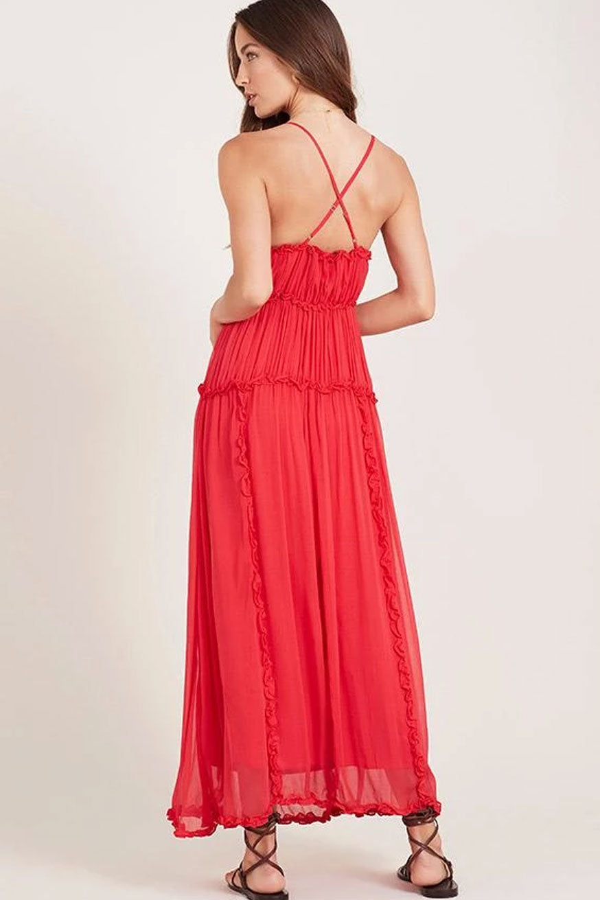 Ministry of Style - Kawai Maxi Dress - Imperial Red