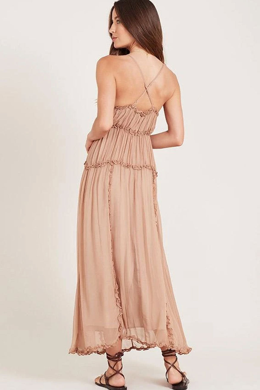 Ministry of Style - Kawai Maxi Dress - Tan