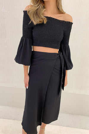 MALIN - Lelani wrap skirt