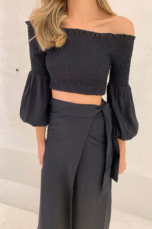 MALIN - Fleur Off Shoulder Top