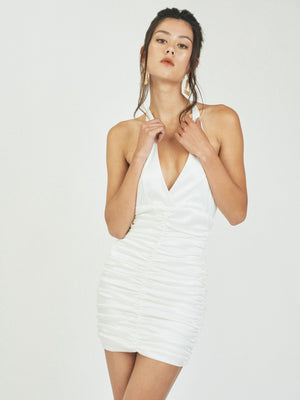 AMELIA MINIDRESS - WHITE