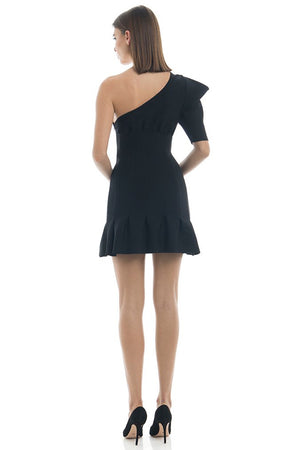 Misha Collection - Soraya Mini Dress - Black