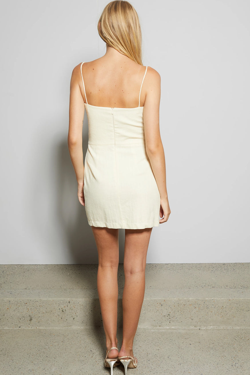 Bec & Bridge - Ana Mini Dress - Butter