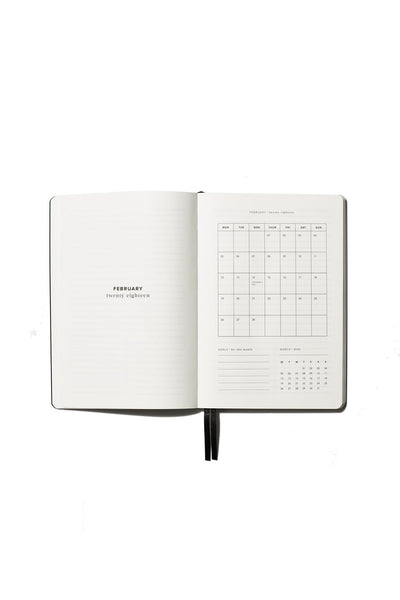 An Organised Life - 2018 Weekly Diary