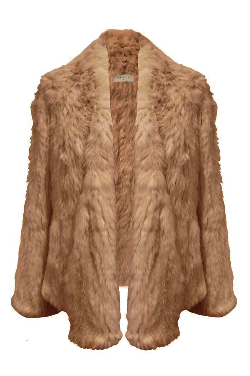 Arielle - Waterfall Jacket - Camel