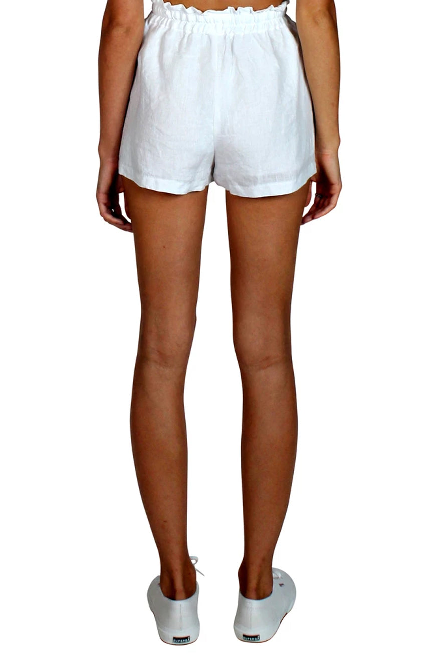 Museum Clothing - Athena Shorts - White
