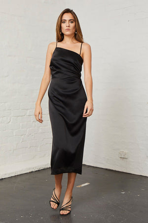Bec & Bridge - Claudia Asymmetric Dress - Black