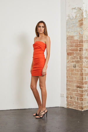 Bec & Bridge - Spicy Lady Mini Dress - Flame