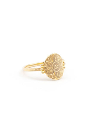 By Charlotte - Gold Small Eternal Harmony Ring