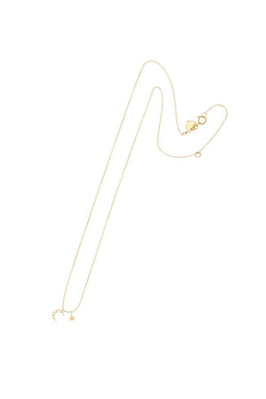 By Charlotte - 14k Gold Evening Sky Necklace
