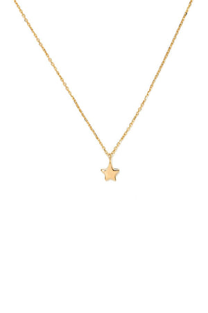 By Charlotte - Gold Star Necklace